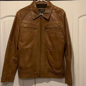 Moto jacket. Super soft lamb skin leather.